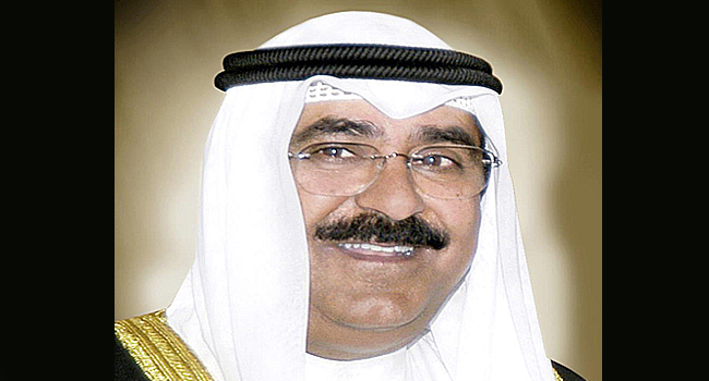 Sheikh Meshal, Kuwait's Top Security Official Named Crown Prince