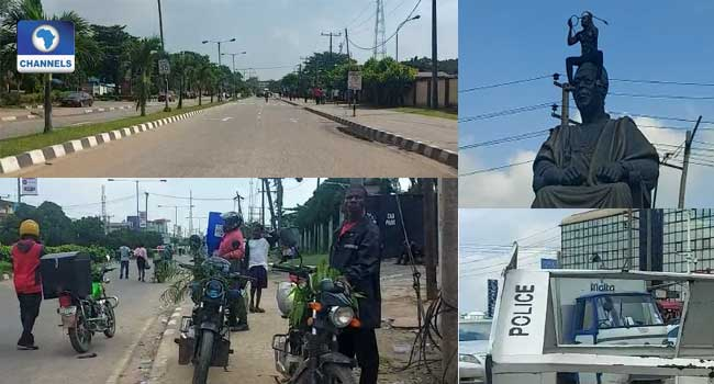 Businesses Shut, Govt Offices Closed As Protesters Continue To Occupy Alausa