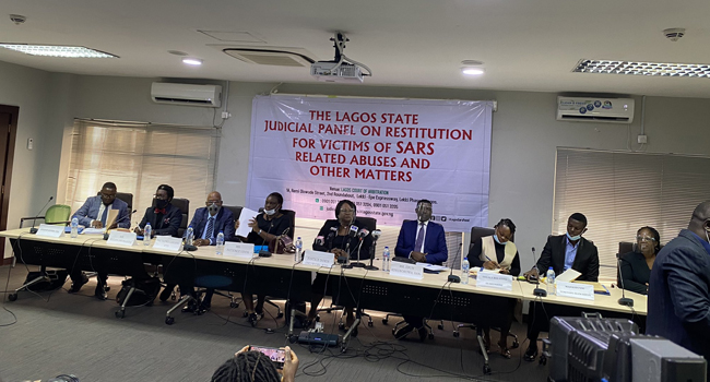 #EndSARS: Lagos Judicial Panel Continues Hearings With 10 Petitions