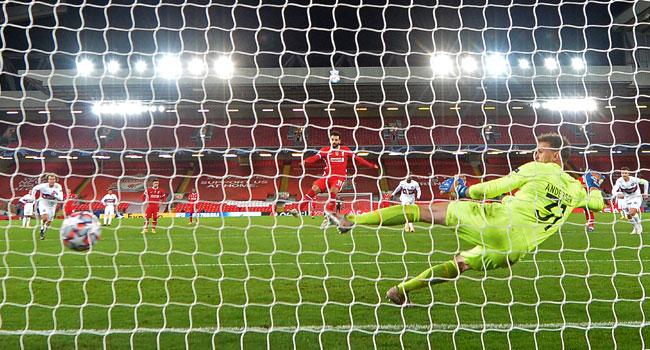Champions League: Salah, Jota Score As Liverpool Edge Past Midtjylland