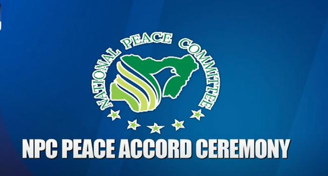 NPC Holds Peace Accord Ceremony Ahead Of Ondo Election