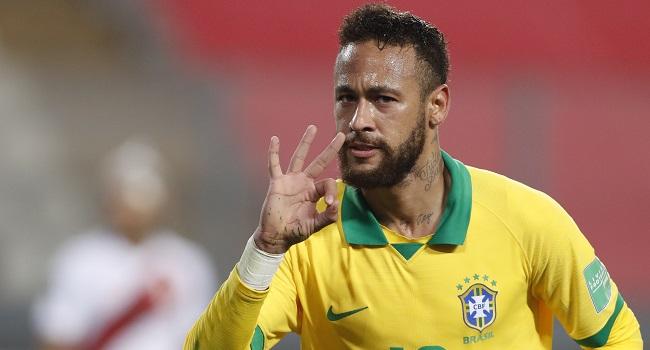 Neymar Hat-Trick Fires Brazil Past Peru, Argentina Labor