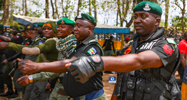 Police In Show Of Force Ahead Ondo Election