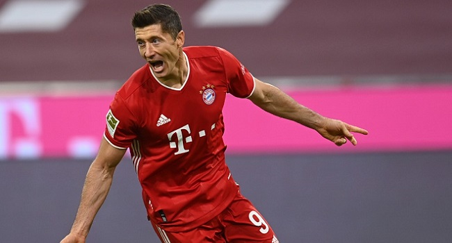 FIFA Shortlists Lewandowski For Best Player Award