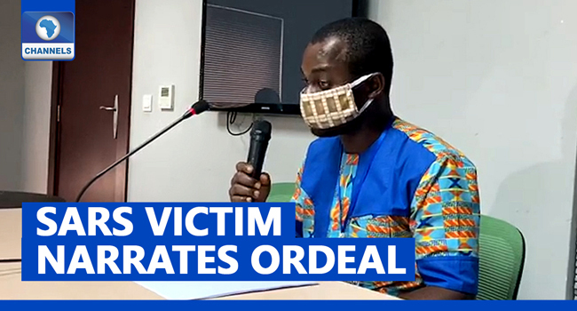 SARS Detained Me For 47 Days, Extracted My Teeth – Victim Tells Lagos Judicial Panel