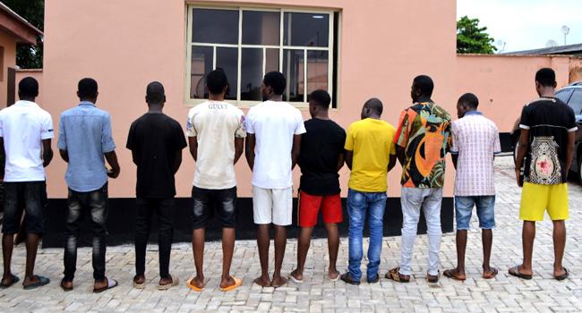 EFCC Arrests 10 Suspected Cyber Criminals In Ibadan