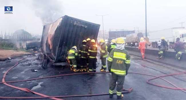 Tanker Explodes On Otedola Bridge