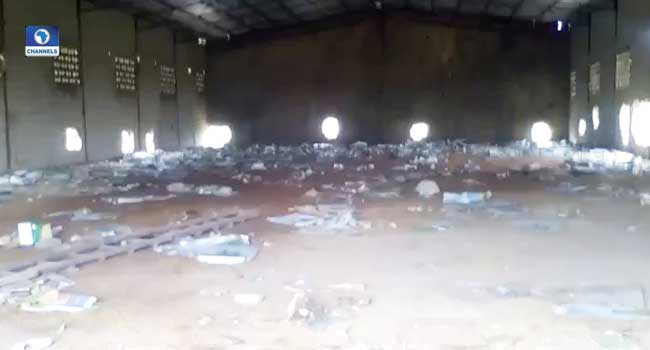 Despite Curfew, Looting Of Warehouses Continues In Taraba
