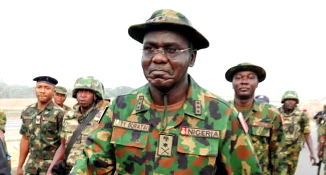 We Must Ensure Nigeria's Democracy Remains Stable, Buratai Tells Army Officers, Soldiers