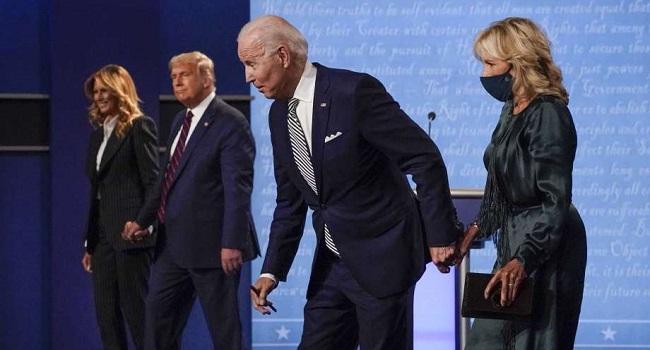 Biden Wishes Trump, Melania 'Swift Recovery' From COVID-19