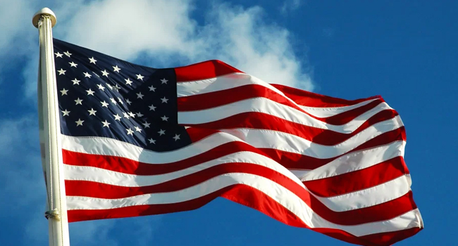 An image of the U.S. flag.