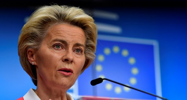 EU Chief Begins Self-Isolation After Contact With COVID-19 Positive Person