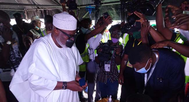 'God Will Give Me Victory': Akeredolu Confident Of Securing Second Term
