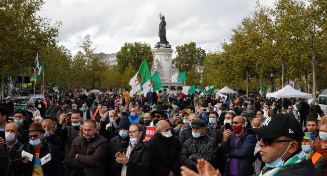 Algerians Take To Streets Despite Ban On Protests