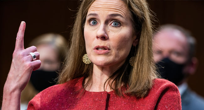 Trump Re-Election Bid Boosted As Senate Confirms Amy Coney