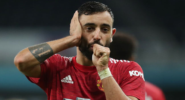 Bruno Fernandes To Captain United Against PSG In Champions League Opener