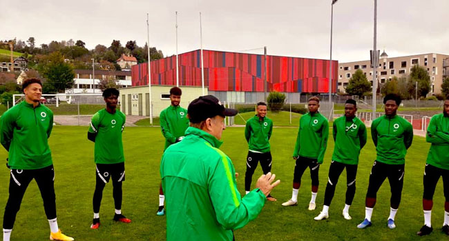 Photos: Full House As Super Eagles Train Ahead Algeria, Tunisia Games