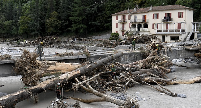 France, Italy Step Up Rescue Efforts After Floods