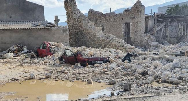Six Dead, Buildings Collapse As Major Quake Hits Turkey, Greece