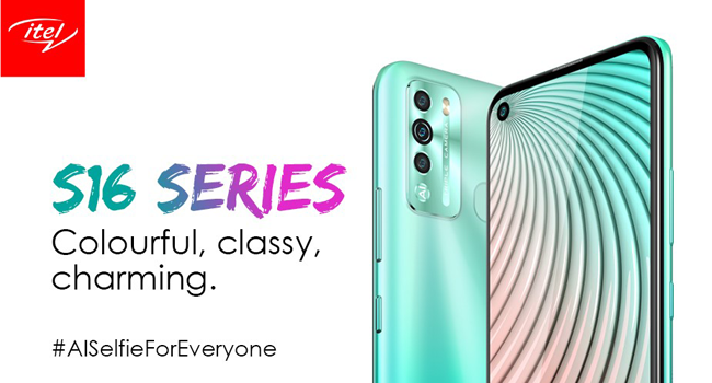 itel Debuts Latest S Series Smartphones S16 and S16 Pro in Nigerian Market