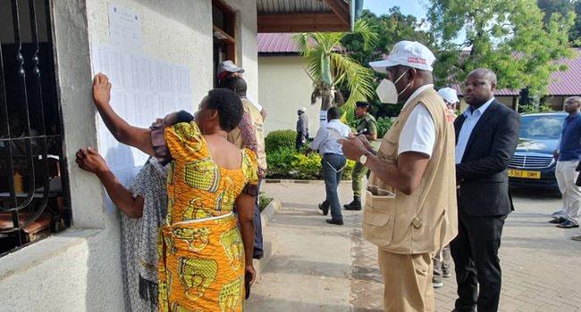 PHOTOS: Jonathan Leads AU Observer Team To Monitor Tanzania Polls