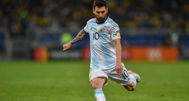 My Goal Is To Win World Cup With Argentina – Messi