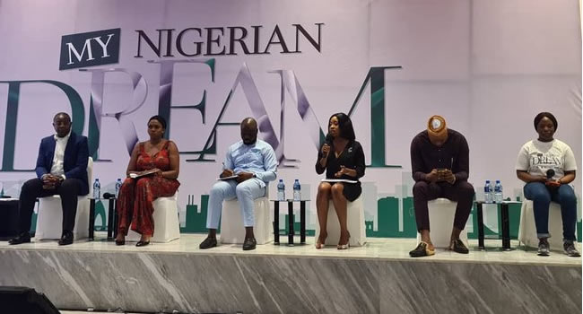 Sports Minister Hosts Youths As They Discuss 'My Nigerian Dream'