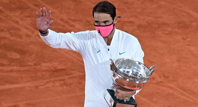 Nadal Wins French Open, Matches Federer's Grand Slam Record