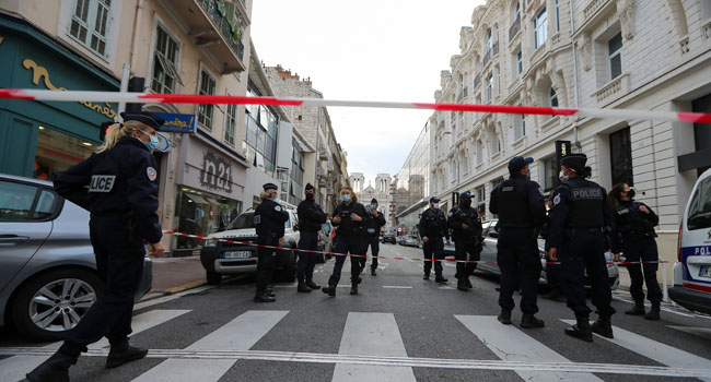 Three Dead In Knife Attack At Church In French City Nice