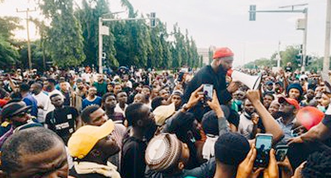 #SARSMUSTEND: Nigerians Demand Police Reform, Release Of Arrested Protesters, More