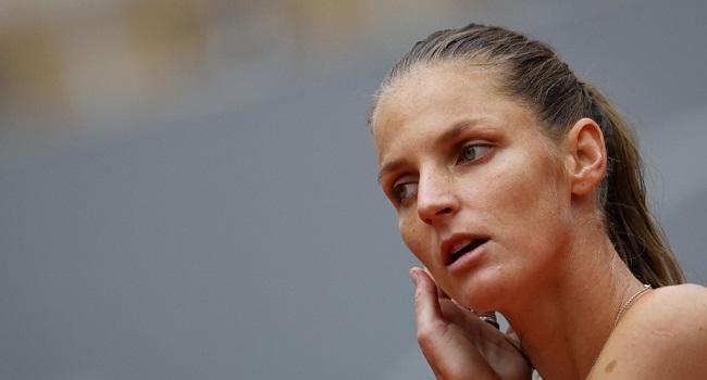 Second Seed Pliskova Knocked Out Of Roland Garros By Ostapenko