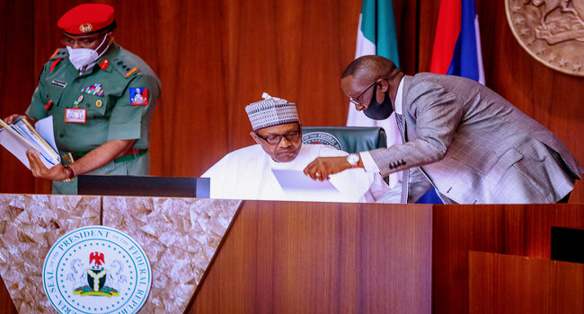 Riots Could Result Into Complete Anarchy, Find Solutions – Buhari Tells Govs, LGA Chairmen, Others