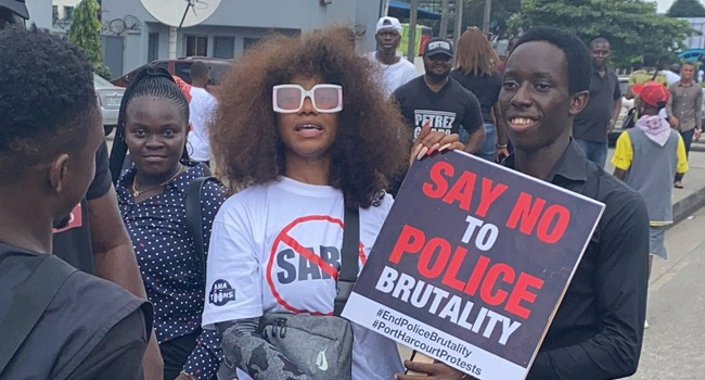 #SARSMUSTEND: We Hear Promises But We Need To See Actions Taken – Tacha
