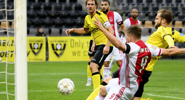 Ajax Smash 13 Past Venlo, Break 48-Year Record