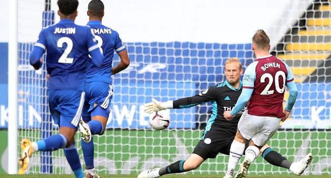 West Ham Ruin Leicester's Unbeaten Start, Saints Beat West Brom