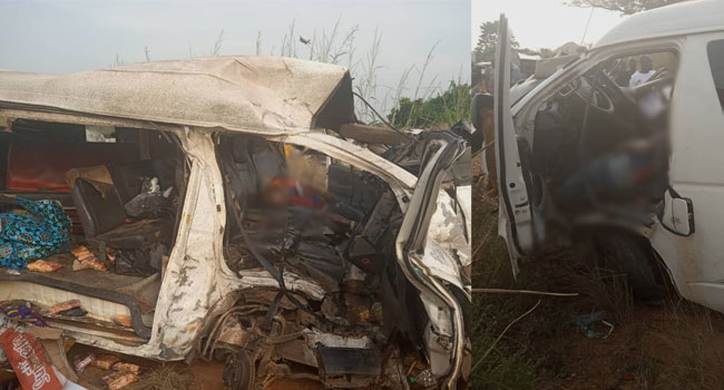 Six Dead, 11 Others Injured As Passenger Bus Crashes Along Onitsha Expressway