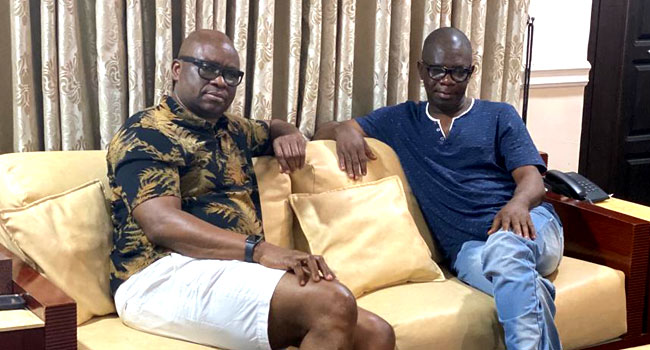 Your Best Option Is To Return To PDP, Fayose Tells Agboola Ajayi