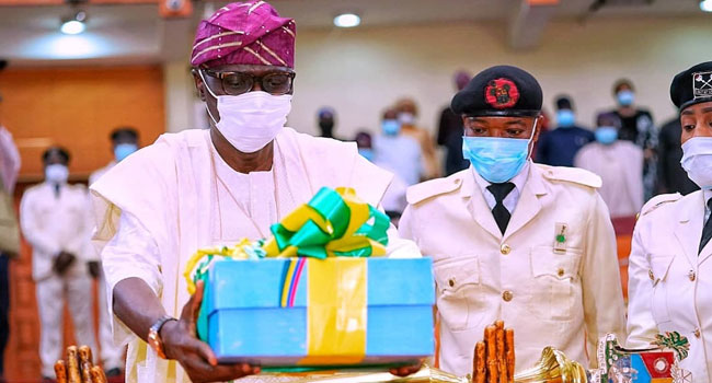 Sanwo-Olu Presents N1,155trn 2021 Budget To Lagos Assembly
