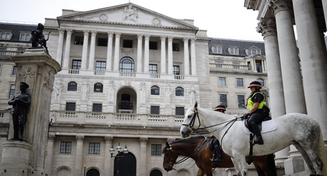 Bank Of England Cuts Outlook Despite Vaccines Rollout
