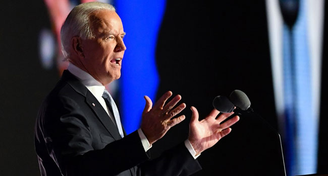 President-Elect Biden Calls For Unity, Reconciliation. Says It's Time For Healing
