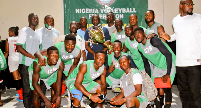 Nigeria Customs, NSCDC Win Volleyball Super Cup