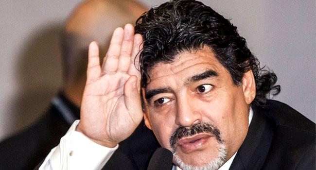 Referee Who Missed 'Hand of god' Hails 'Genius' Maradona