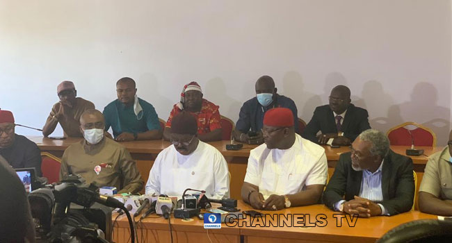 'We Won't Defect To APC,' Ebonyi PDP Federal Lawmakers React To Umahi's Defection