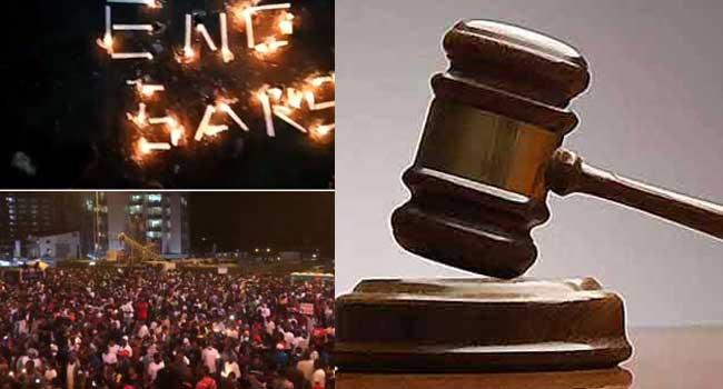 16 #EndSARS Campaigners Ask Court To Unfreeze Accounts