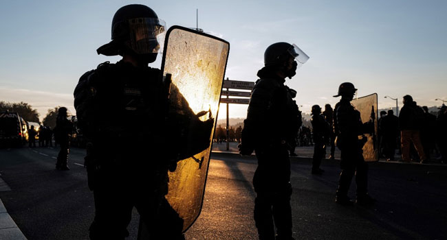 Four French Police Officers Charged Over Beating, Racial Abuse Of Black Man