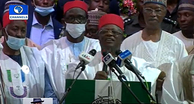 'We Have Moved Into Blessings,' Umahi Says As He Officially Joins APC