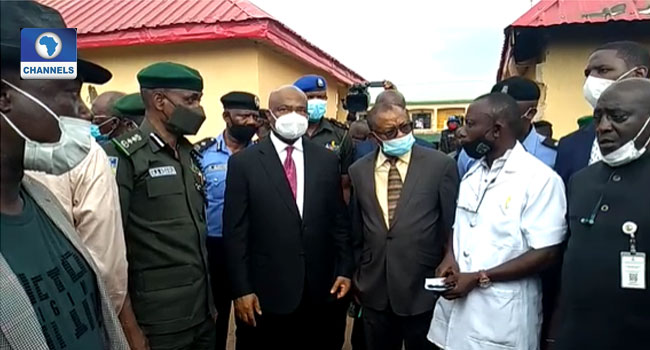 Imo Governor Receives IGP, Vows To Rebuild All Destroyed Police Stations