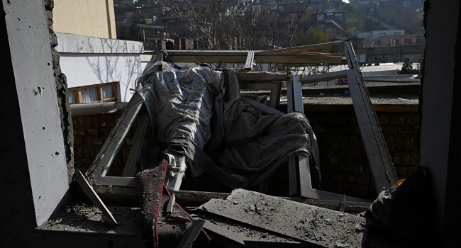 At Least Eight Dead As Barrage Of Rockets Hit Kabul