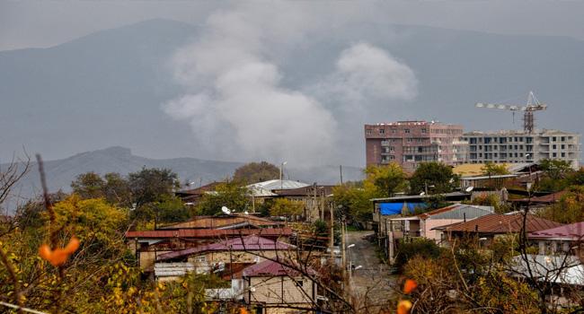 Villagers Burn Karabakh Houses Ahead Of Azerbaijan Takeover