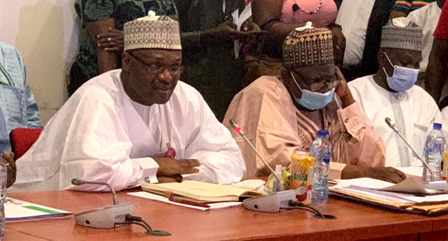 Senate Committee Screens Mahmood Yakubu For Reappointment As INEC Chairman